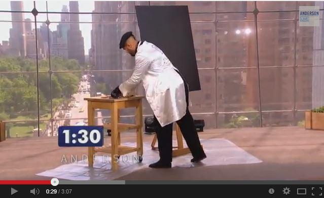 Incredibile quadro dipinto in 1 minuto
